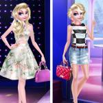 Elsa Long Hair Vs Short Hair Fashion