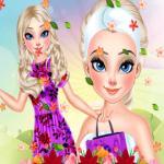 Elsa Spring Makeup